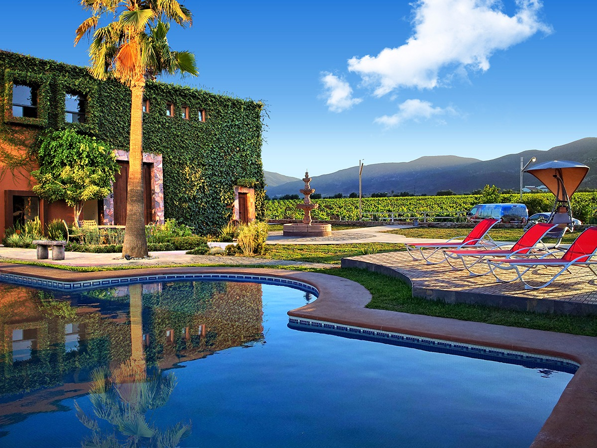Hotel boutique valle de guadalupe in ensenada 39 s wine country for Hotel boutique mexico